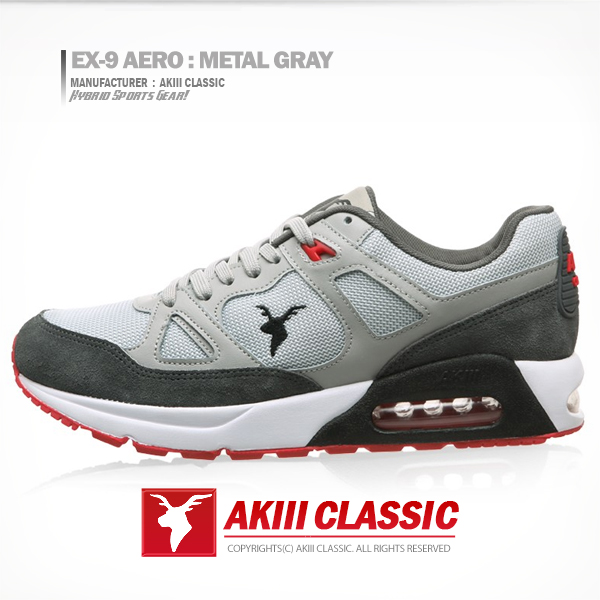 "<b><font color=""red"">新版本!★★</font></b> <br> AKIII CLASSIC(AKIII CLASSIC) <BR>九的Aero X(EX-9 AERO)金属灰<br>金属灰色"