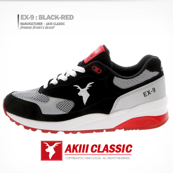 AKIII CLASSIC <br>EX-9 黑/红色