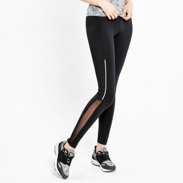 AKIII CLASSIC  <br> <b>AP-0110运动紧身裤</b> <br>黑色<br>