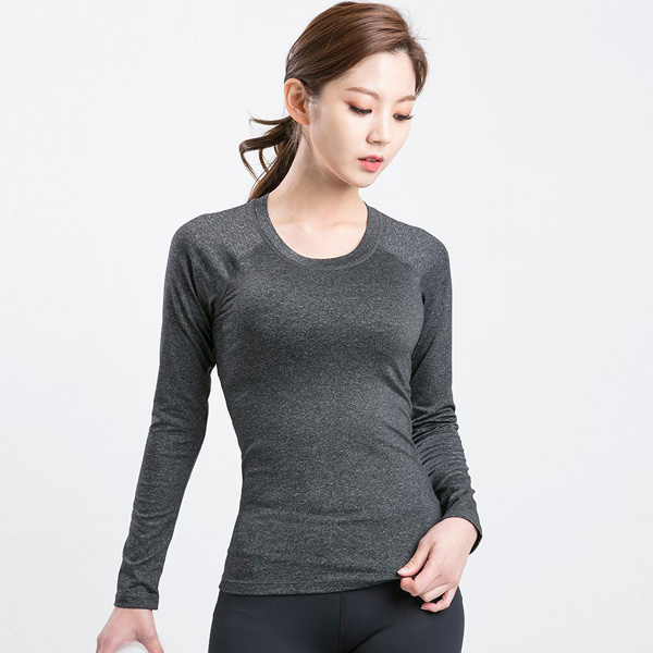 AKIII CLASSIC  <br> AT-0107木炭色<br>标准短袖Ť恤衫 含胸垫