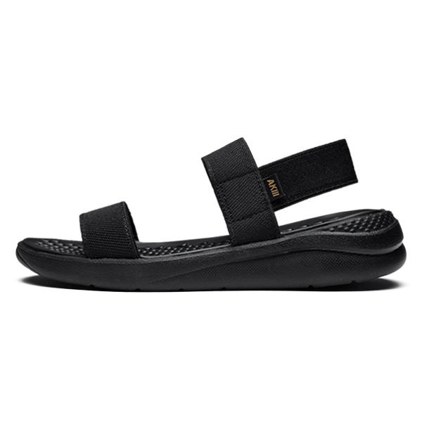 Bubble皮条/束带凉鞋Triple Black