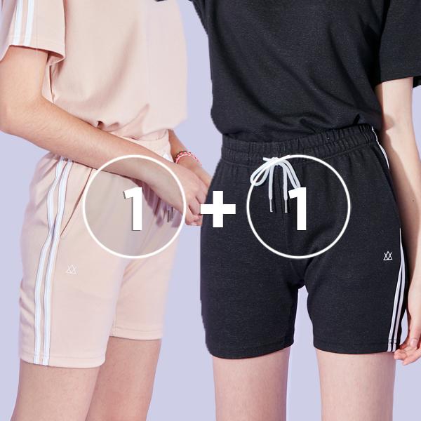 [1 + 1事件] 2个图标短裤