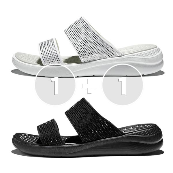 [1 +1个活动]泡泡水晶凉鞋